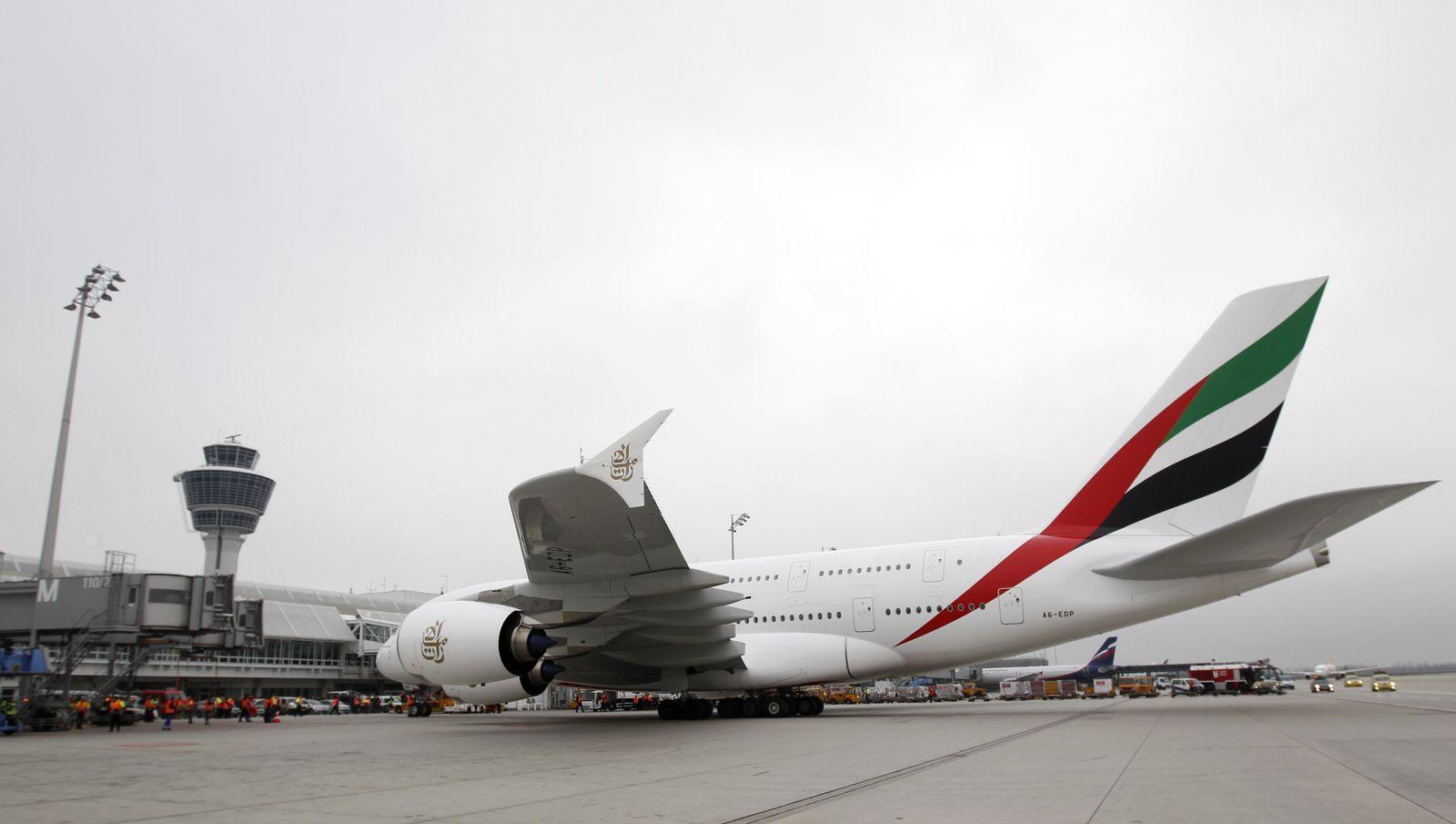 NICHT VERWENDEN emirates a380
