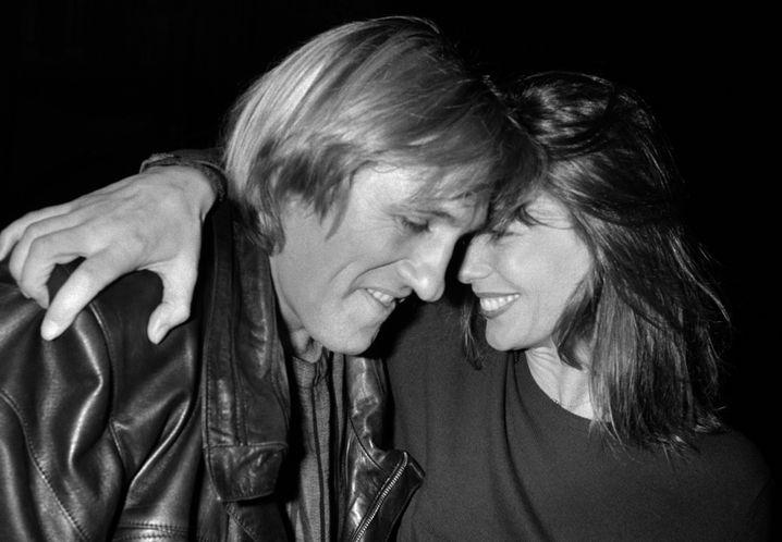 Birkin 1986 gemeinsam mit Gérard Depardieu