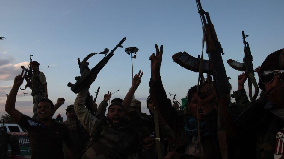 Kämpfer der libyschen Übergangsregierung: Cyber-Angriff abgesagt