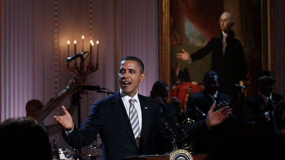Obamas neueste Gesangseinlage: Mr. President singt den Blues, Brother!
