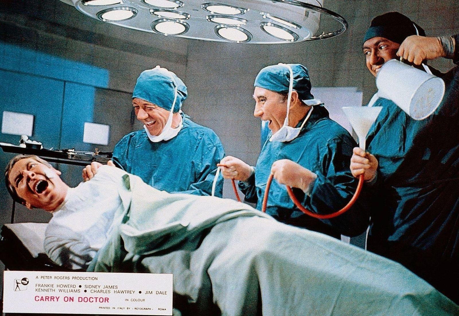 EINMALIGE VERWENDUNG TV/ Carry On Doctor