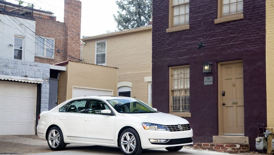 VW-Passat für die USA: Volkswagen soll Abgasmessung manipuliert haben