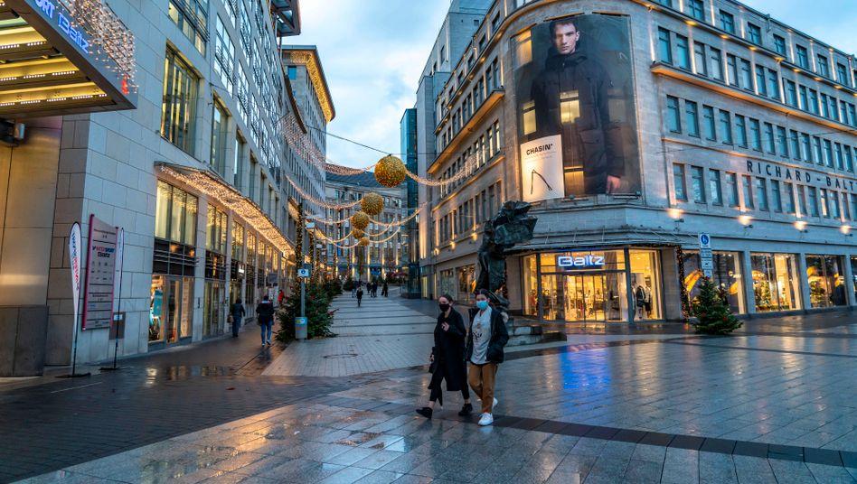 Die Innenstadt von Bochum - ohne Weihnachtsmarkt dieses Jahr