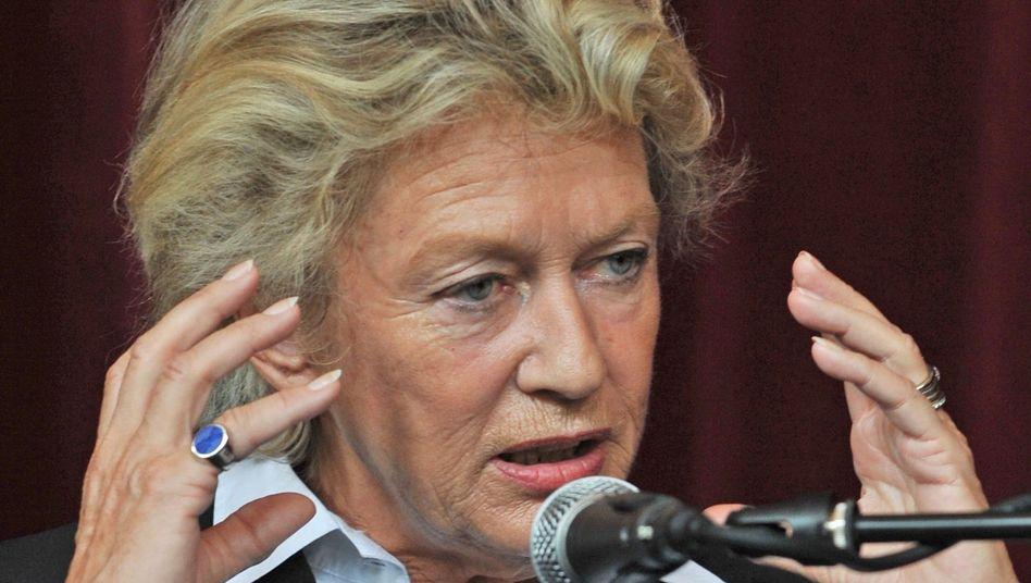 Petra Roth (CDU): Die Oberbürgermeisterin wünscht sich schwarz-grüne Zusammenarbeit