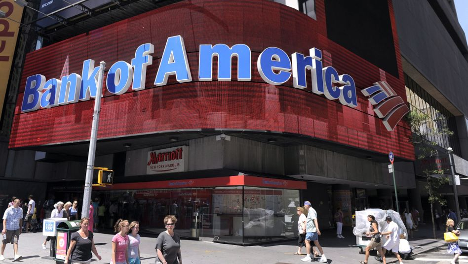 Filiale der Bank of America am Times Square in New York: Manipulationsvorwürfe