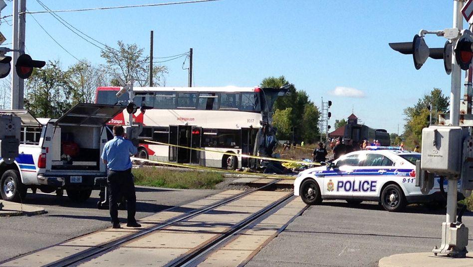 Unglücksort in Ottawa: Mindestens sechs Tote