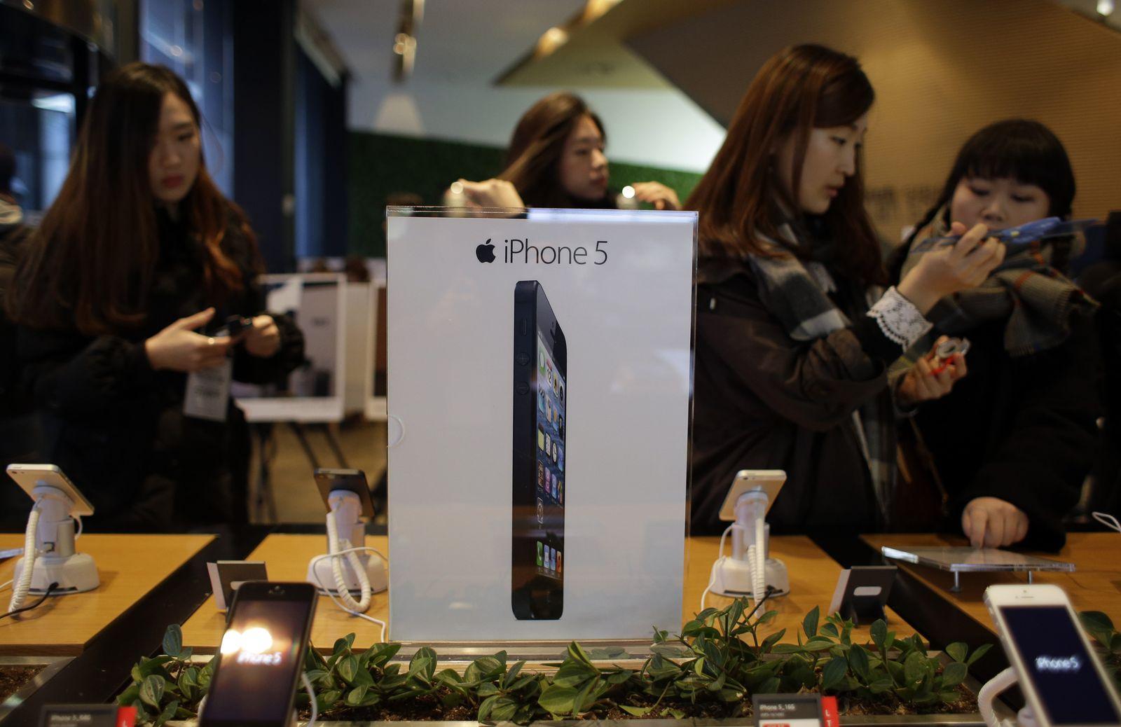 South Korea Apple iPhone 5