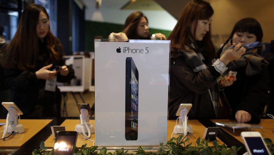 iPhone-5-Verkauf in Seoul: Apple und Samsung wollen von Frieden nichts wissen