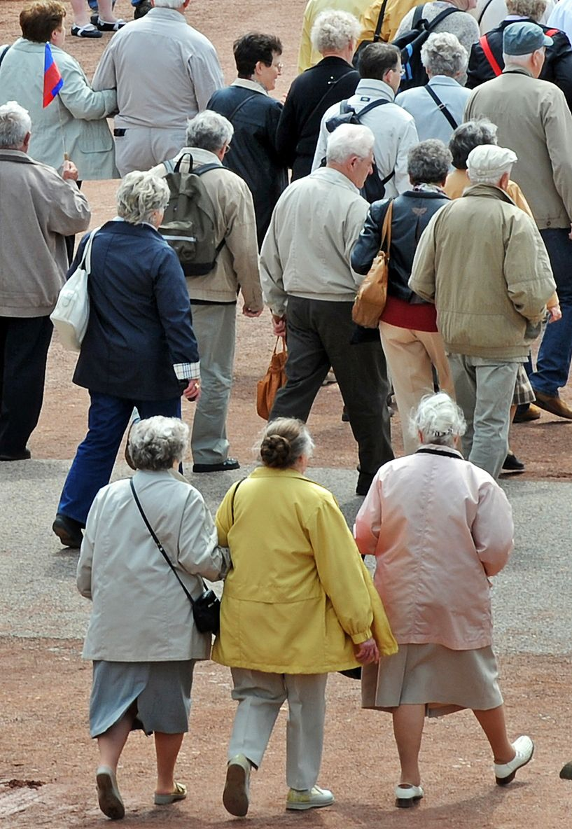 Rentenversicherung / Rentner / Rente / Lebensversicherung / Symbolbild
