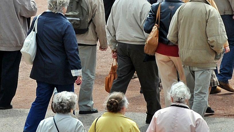 Eine Seniorengruppe in Dresden (Archivbild)