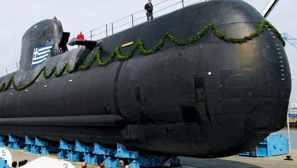 HDW-U-Boot Papanikolis in Kiel
