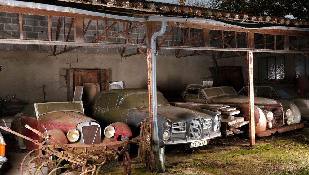 Versteigerung von 60 Luxusautos: Protz mit Patina