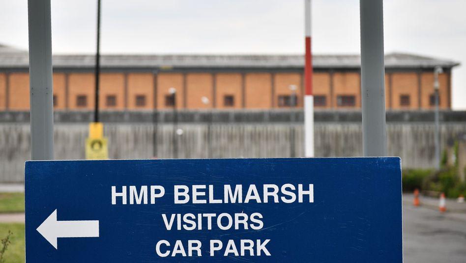 Gefängnis Belmarsh in London: Derzeit wird Assange hier festgehalten