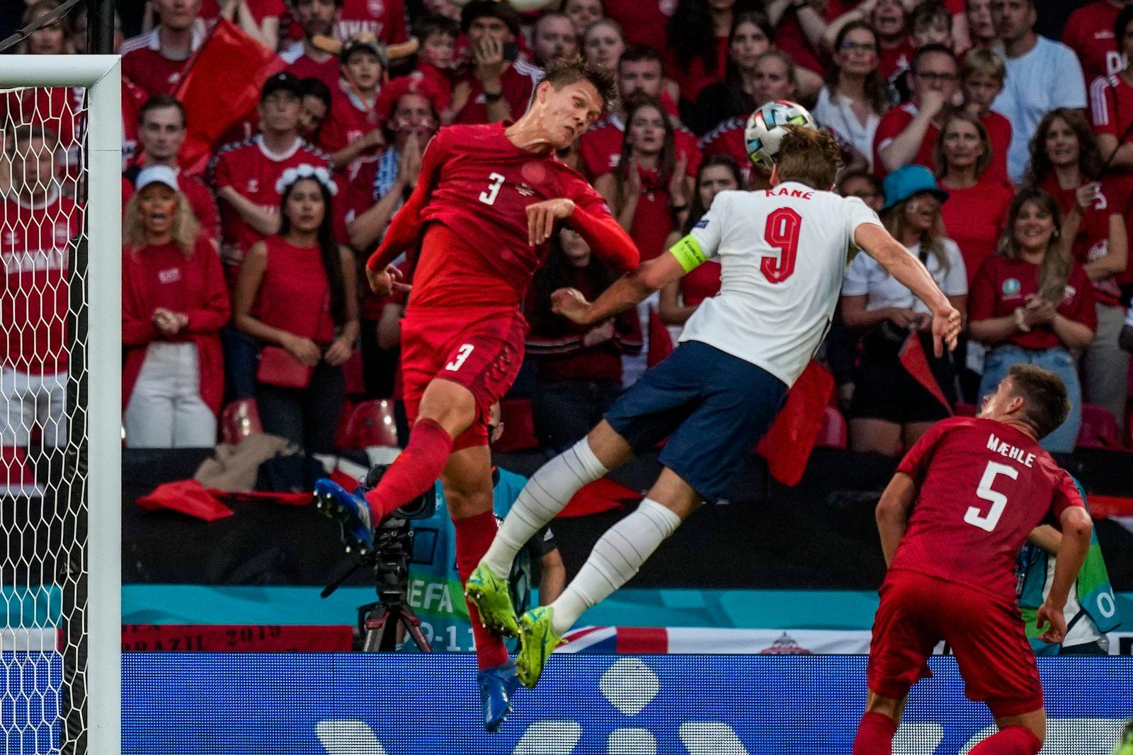 Fußball EM - England - Dänemark