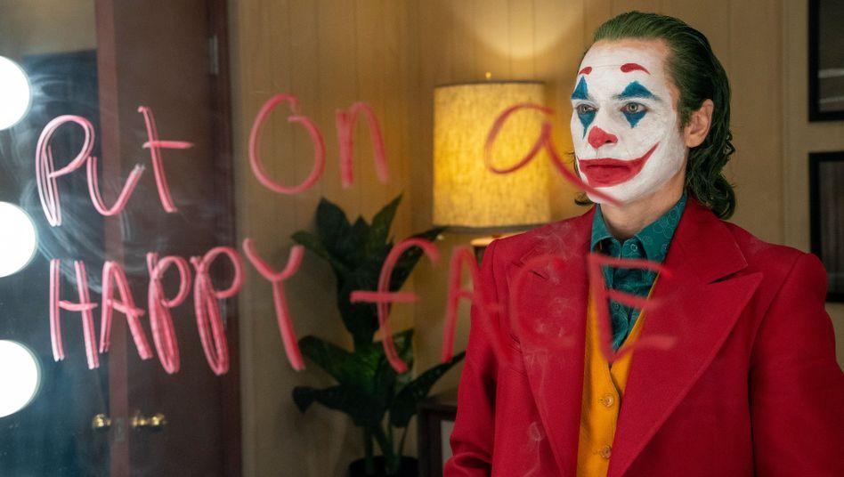 """Joaquin Phoenix als """"Joker"""": Komödie und Tragödie in einer Clownsfigur verdichtet"""
