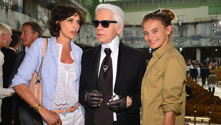 Lagerfelds Musen: Von Claudia bis Willow