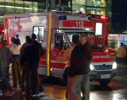 Krankenwagen am Tatort: Großaufgebot nach dem Amoklauf in Berlin