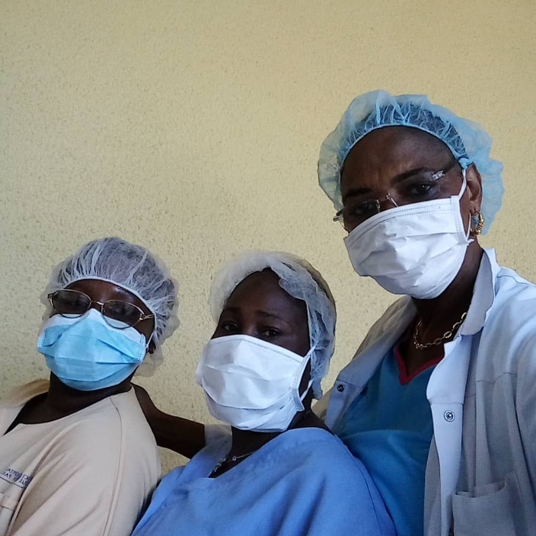 Madame Camara, Krankenschwester in Conakry