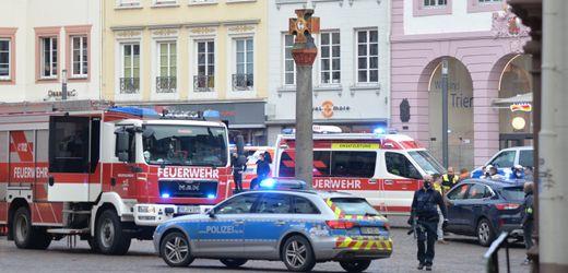 Trier: Autofahrer rast in Fußgängerzone – mehrere Tote und Verletzte