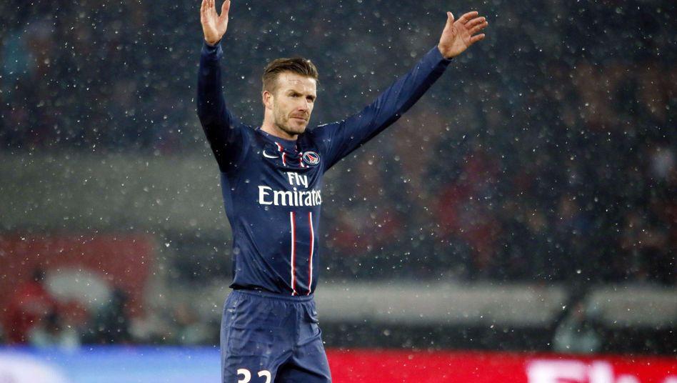 PSG-Star Beckham: Vertrag bis Saisonende