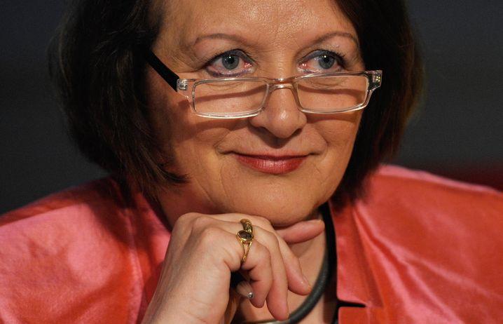 Sabine Leutheusser-Schnarrenberger, Justizministerin in der Regierung Merkel, FDP
