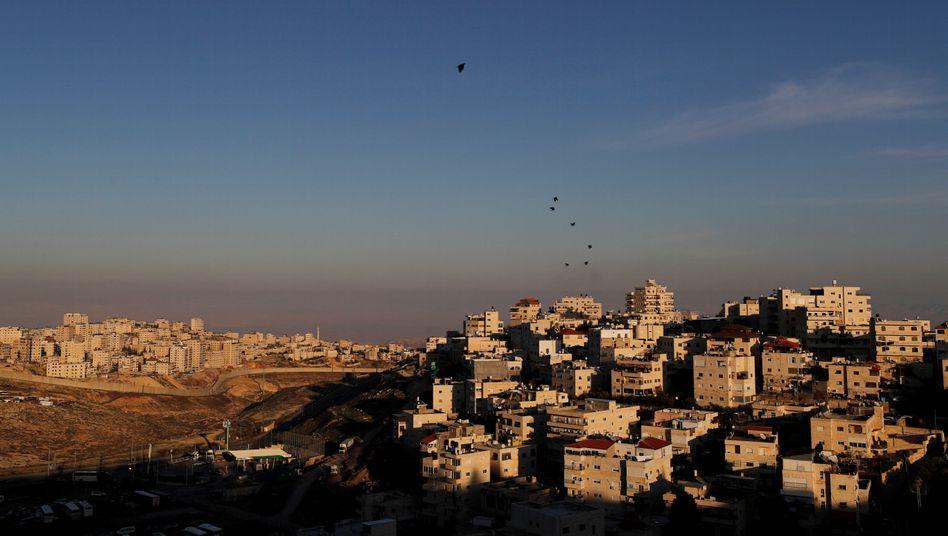 Palästinensisches Gebiet im Osten Jerusalems
