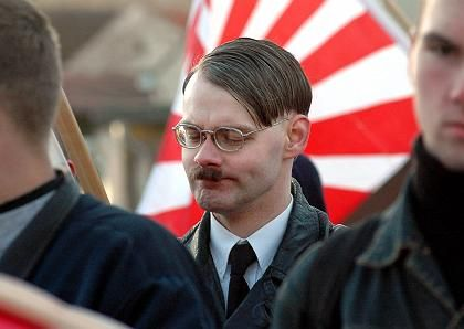 The Adolf look is less worrying than Adolf's ideas.