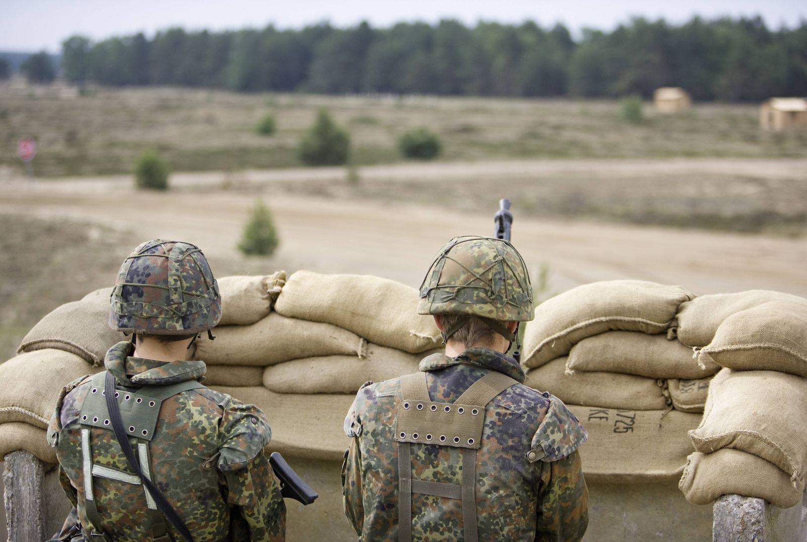 EINMALIGE VERWENDUNG Truppenübungsplatz Lübtheen