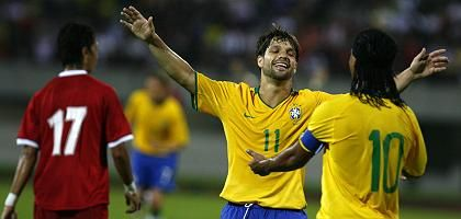 Brasilianer Diego, Ronaldinho: Gemeinsam bei Olympia?