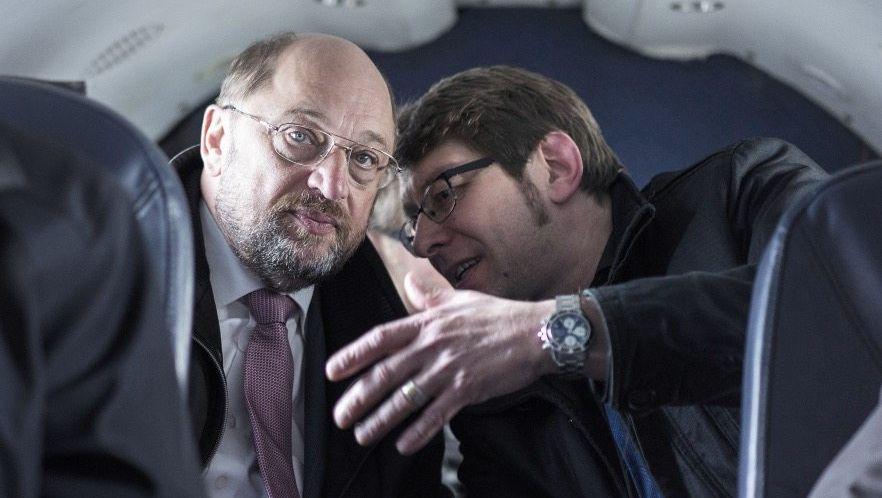 EU-Parlamentspräsident Schulz, Mitarbeiter Engels 2014
