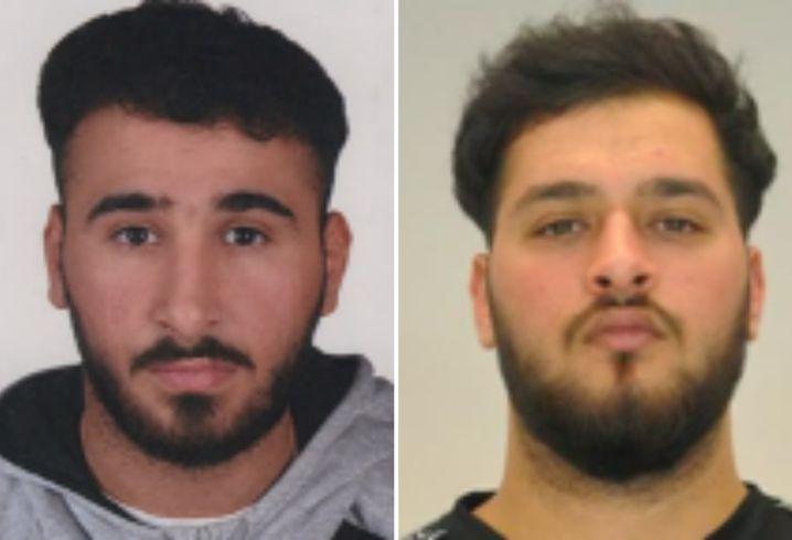 Zwei Tatverdächtige sind weiter auf der Flucht: Abdul Majed Remmo (l.) und Mohamed Remmo