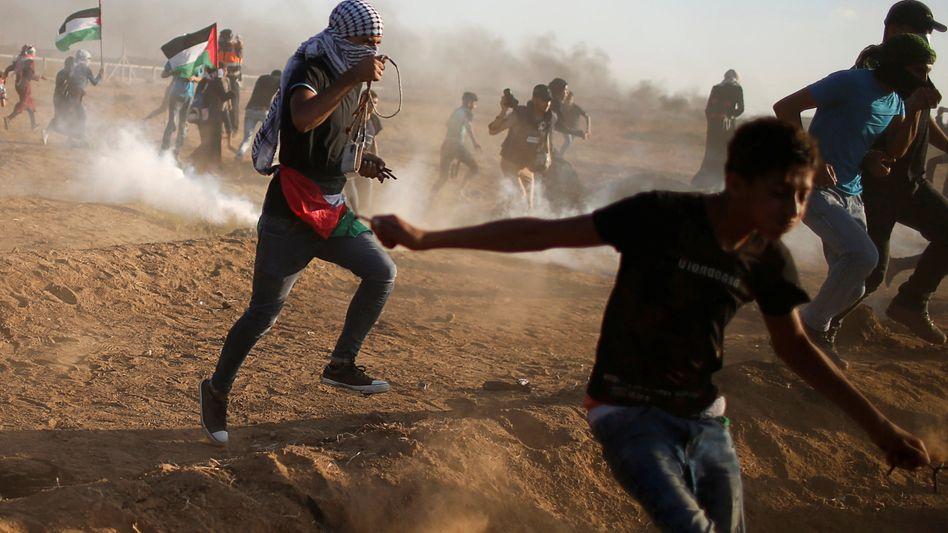 Auseinandersetzungen an der Gaza-Grenze