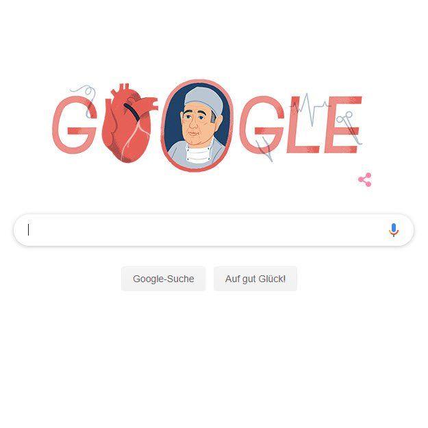 EINMALIGE VERWENDUNG Google Doodle 12.07.2019