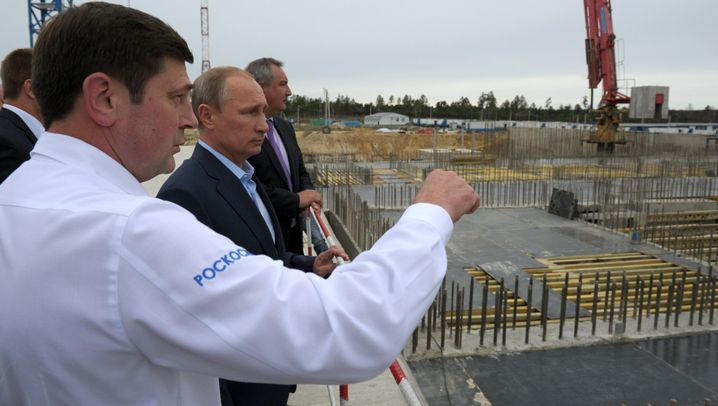 Wostotschnij: Russlands Sorgenbaustelle