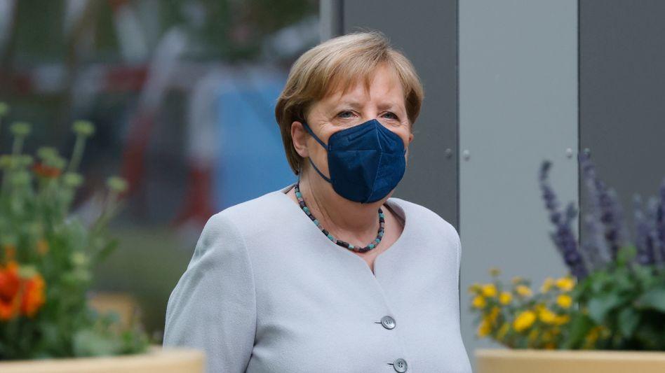 Zweifach gegen Corona geimpft: Bundeskanzlerin Angela Merkel