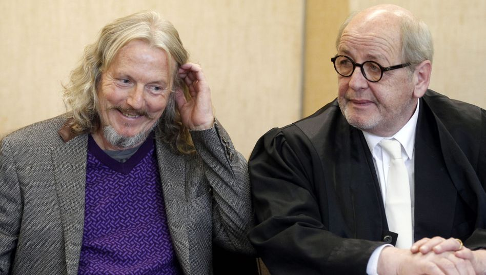 Art forger Wolfgang Baltracchi had reason to smile despite being sent to jail for six years.