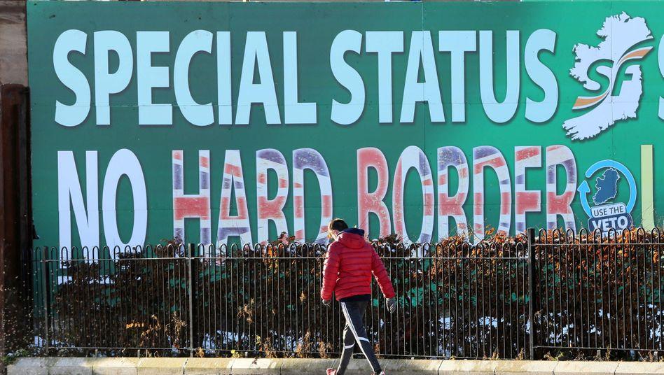 Plakat in Belfast (Archivbild)