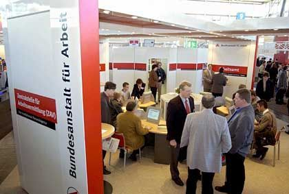 Cebit in Hannover: Messe als Jobbasar