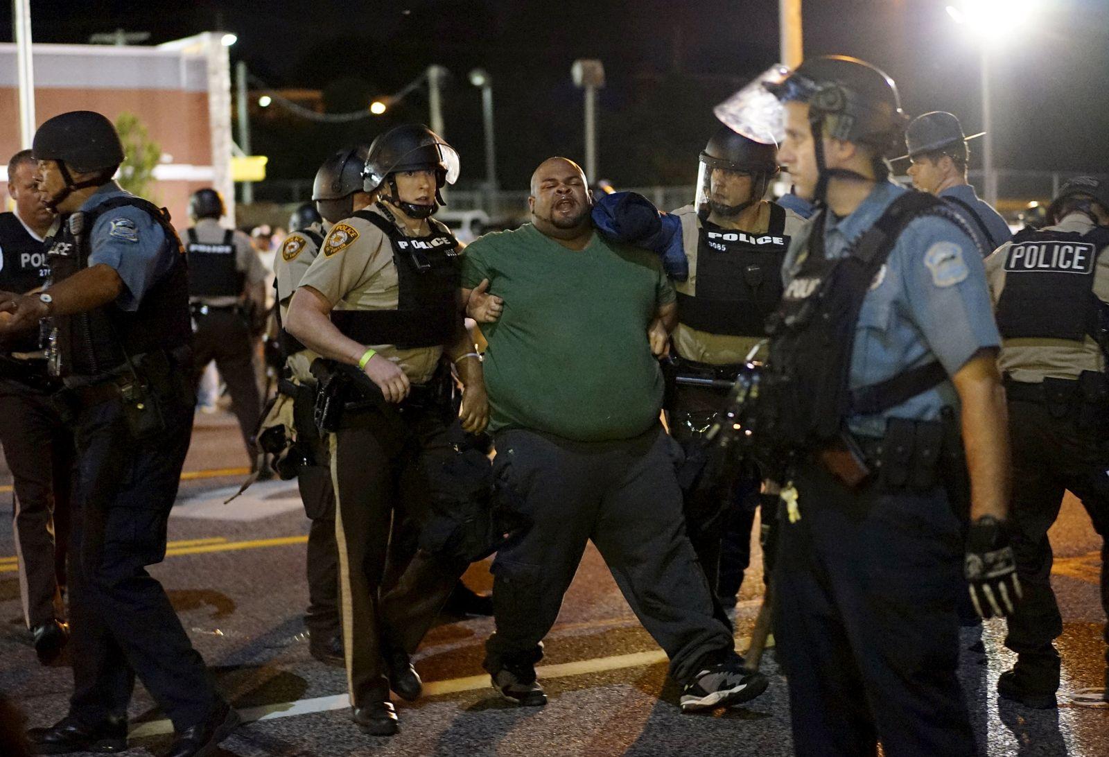 Ferguson Festnahme
