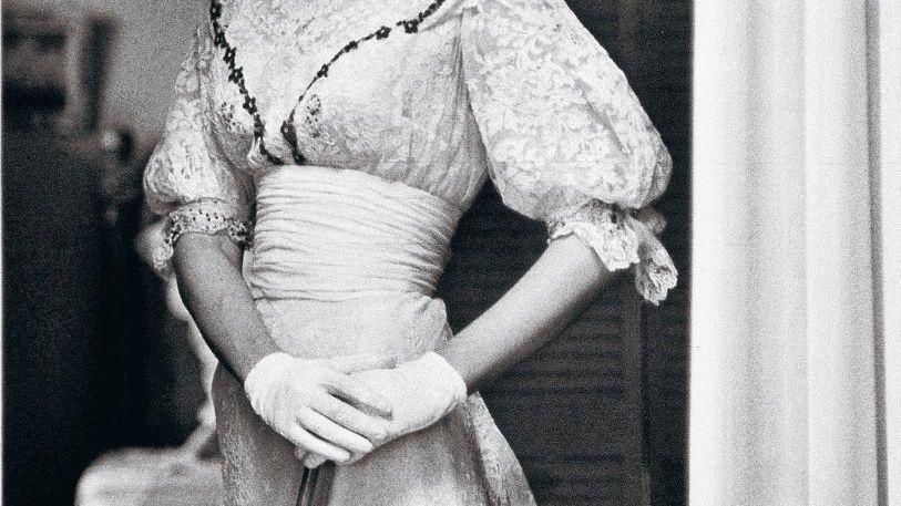 Schauspielerin Vanderbilt in »Der Schwan« 1954