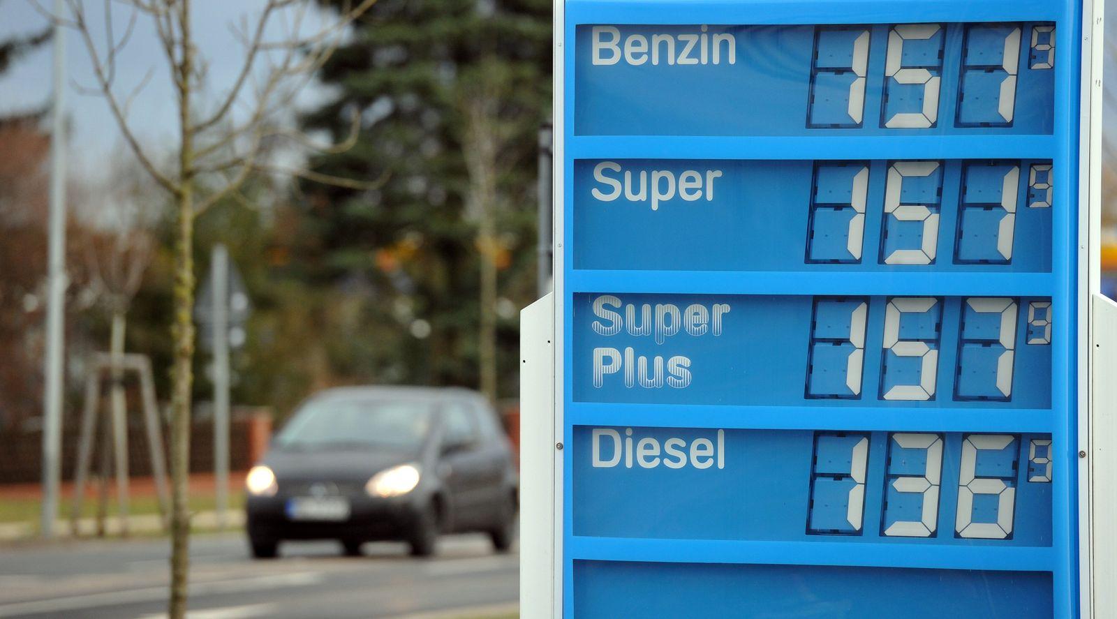 Inflation Benzin