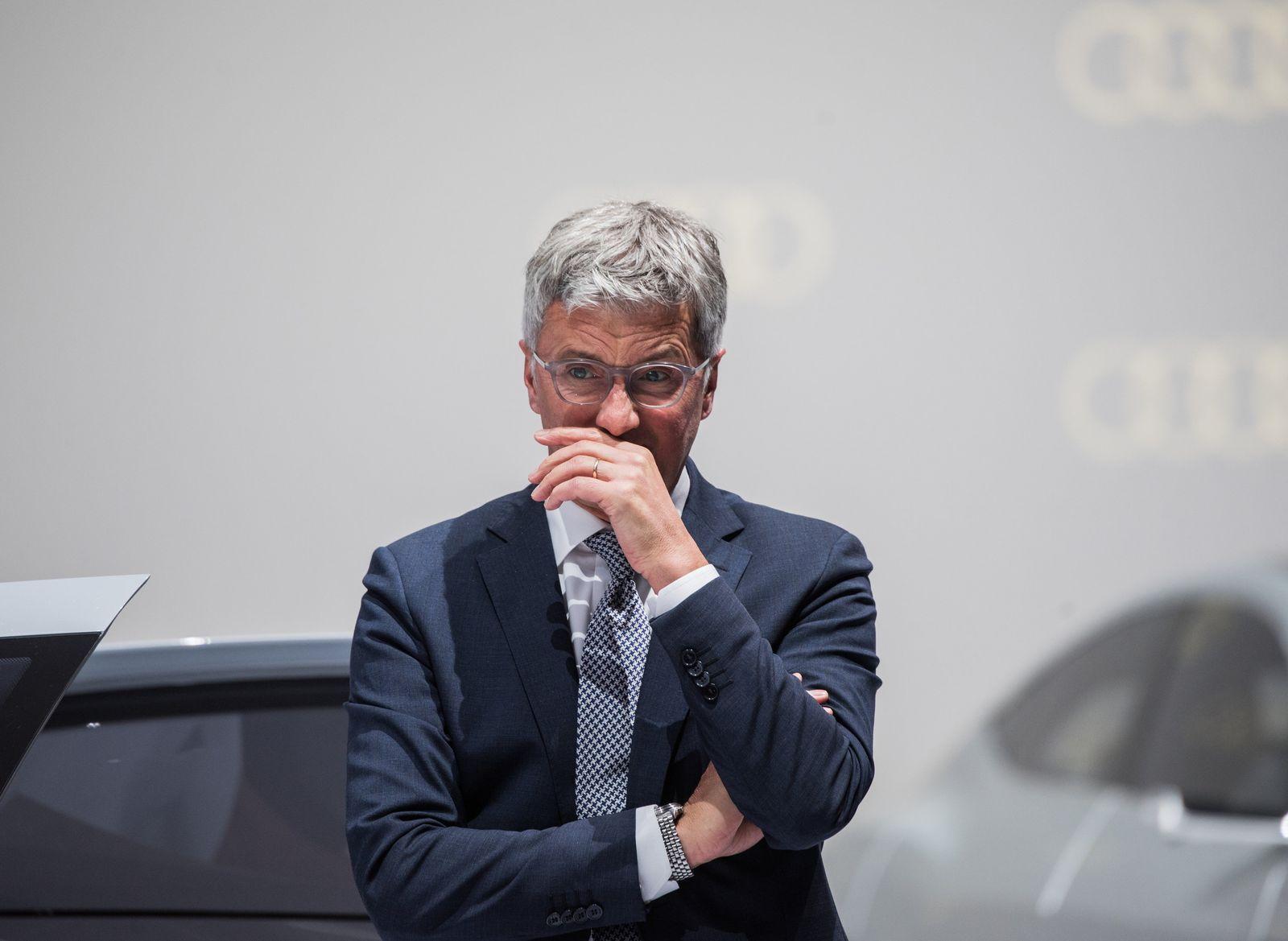 EINMALIGE VERWENDUNG PLUS DER SPIEGEL 26/2018 S. 61 Dieseskandal Audi
