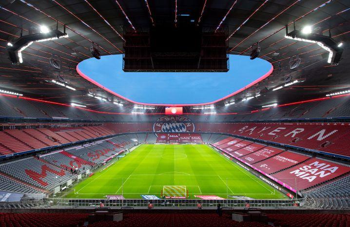 Leere Allianz-Arena: Trotz Geisterspielen »positive« Jahresbilanz beim FC Bayern