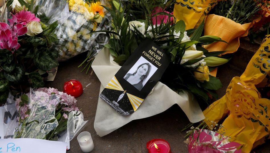 Gedenken an Journalistin: Daphne Caruana Galizia wurde 2017 ermordet