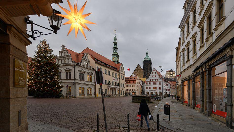Protest gegen Corona-Maßnahmen in Pirna: »Es ist ermüdend«