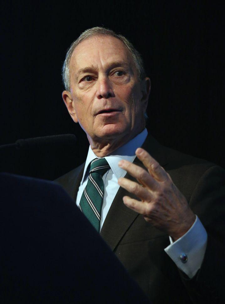 """Michael Bloomberg: """"Das muss ein Ende haben"""""""