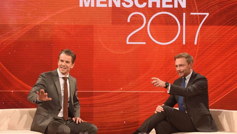 Markus Lanz, Christian Lindner