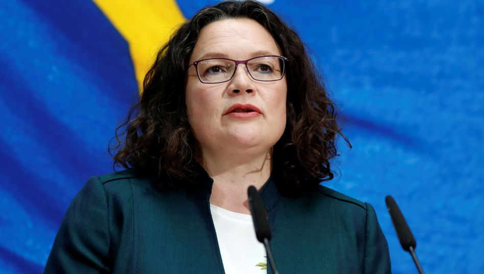 Andrea Nahles: Öffentliches Stereotyp