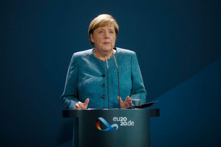 Kanzlerin Merkel spricht am Mittwoch zum Fall Nawalny