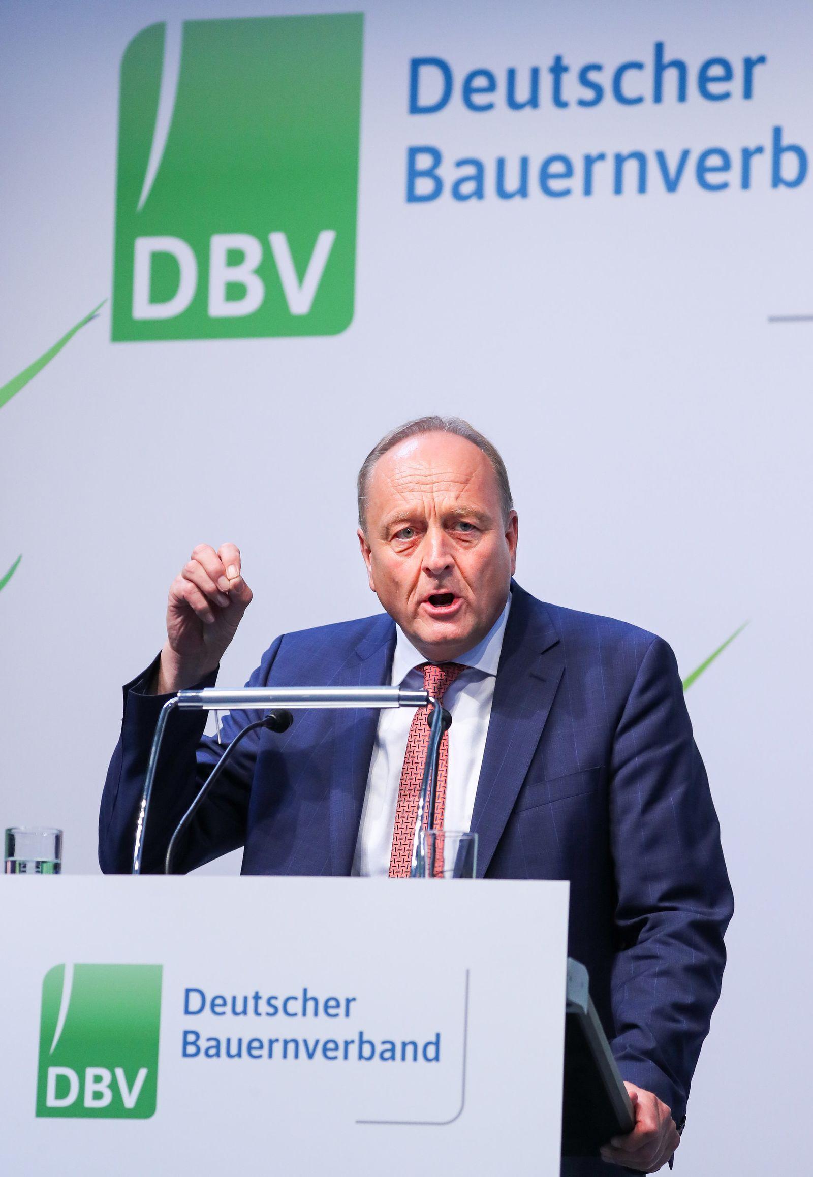 Deutscher Bauerntag beginnt